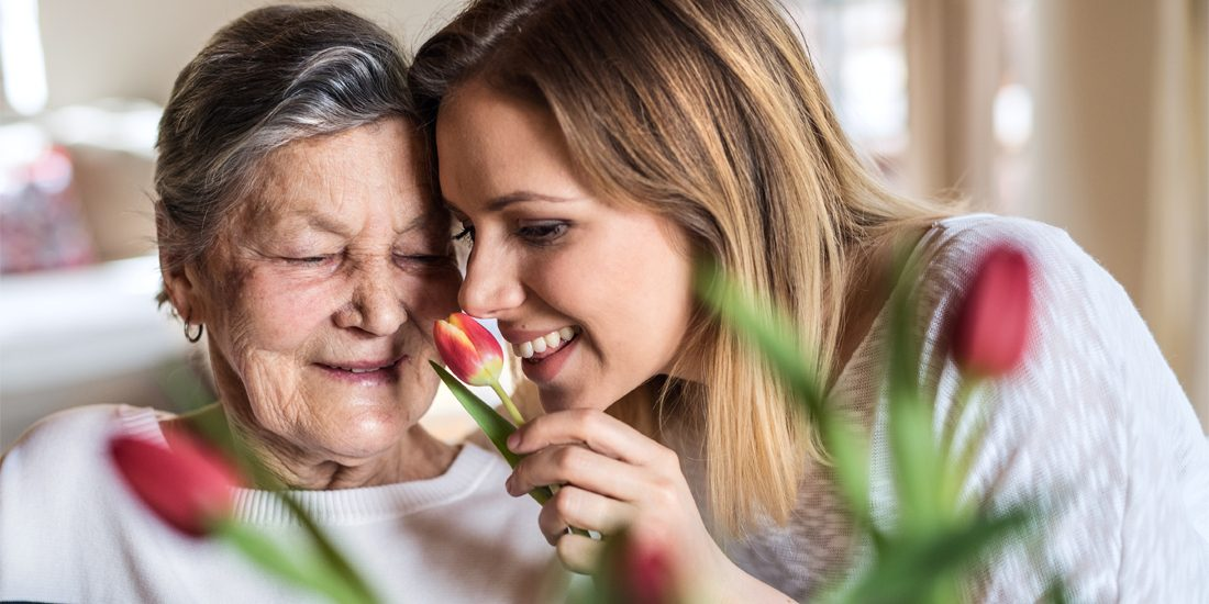 Ein guter Duft im Zimmer pflegt nicht nur Patienten sondern auch Angehörige.