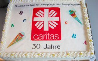 Die Caritas Berufsfachschule für Altenpflege und Altenpflegehilfe feiert 30. Geburtstag.