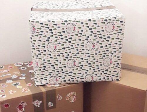Sechs Pakete voll mit Hoffnung